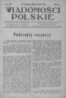 Wiadomości Polskie 4 1918-1919, Nr 170