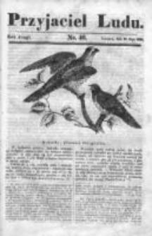 Przyjaciel Ludu czyli Tygodnik potrzebnych i pożytecznych wiadomości 1835/36, R. 2, nr 46