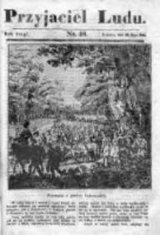 Przyjaciel Ludu czyli Tygodnik potrzebnych i pożytecznych wiadomości 1835/36, R. 2, nr 48
