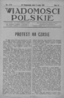 Wiadomości Polskie 4 1918-1919, Nr 178