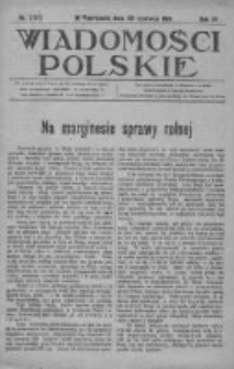 Wiadomości Polskie 4 1918-1919, Nr 186