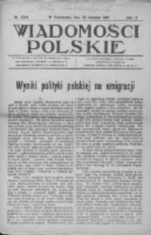 Wiadomości Polskie 4 1918-1919, Nr 194
