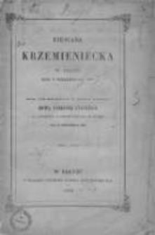 Biesiada Krzemieniecka 1857 wyd. 1858