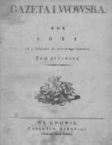 Gazeta Lwowska 1831 I, Nr 1