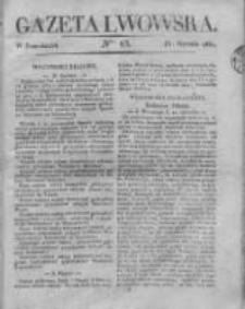 Gazeta Lwowska 1831 I, Nr 13