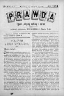 Prawda. Tygodnik polityczny, społeczny i literacki 1912, Nr 26