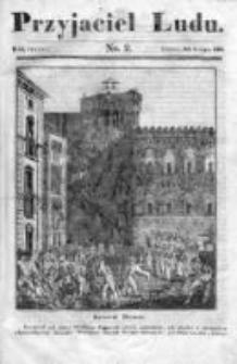 Przyjaciel Ludu czyli Tygodnik potrzebnych i pożytecznych wiadomości 1836/37, R. 3, nr 2