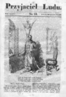 Przyjaciel Ludu czyli Tygodnik potrzebnych i pożytecznych wiadomości 1836/37, R. 3, nr 13
