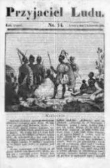 Przyjaciel Ludu czyli Tygodnik potrzebnych i pożytecznych wiadomości 1836/37, R. 3, nr 14