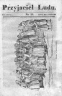 Przyjaciel Ludu czyli Tygodnik potrzebnych i pożytecznych wiadomości 1836/37, R. 3, nr 18