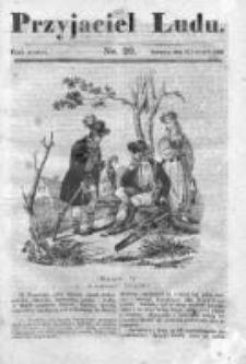 Przyjaciel Ludu czyli Tygodnik potrzebnych i pożytecznych wiadomości 1836/37, R. 3, nr 20