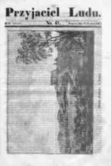 Przyjaciel Ludu czyli Tygodnik potrzebnych i pożytecznych wiadomości 1836/37, R. 3, nr 41