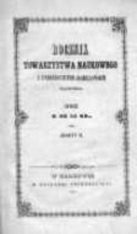 Rocznik Towarzystwa Naukowego z Uniwersytetem Krakowskim połączonego 1850, R. 20, Z. 2