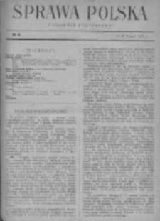 Sprawa Polska. Tygodnik polityczny 1916, R. 2, Tom I, Nr 4
