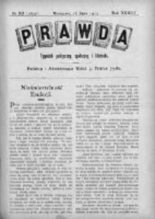 Prawda. Tygodnik polityczny, społeczny i literacki 1913, Nr 30