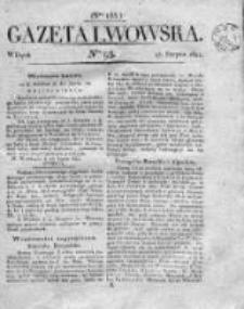 Gazeta Lwowska 1821 II, Nr 93
