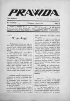 Prawda. Tygodnik polityczny, społeczny i literacki 1914, Nr 10