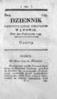 Dziennik Patriotycznych Polityków w Lwowie 1795 IV, Nr 229