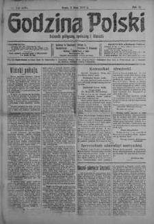 Godzina Polski : dziennik polityczny, społeczny i literacki 2 maj 1917 nr 118