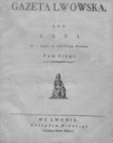 Gazeta Lwowska 1831 II, Nr 78
