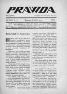 Prawda. Tygodnik polityczny, społeczny i literacki 1914, Nr 16