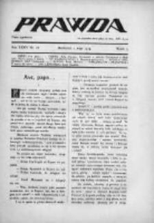 Prawda. Tygodnik polityczny, społeczny i literacki 1914, Nr 18