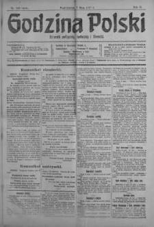 Godzina Polski : dziennik polityczny, społeczny i literacki 7 maj 1917 nr 123