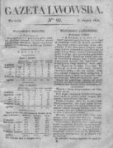 Gazeta Lwowska 1831 II, Nr 92