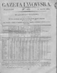 Gazeta Lwowska 1831 II, Nr 109