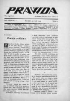Prawda. Tygodnik polityczny, społeczny i literacki 1914, Nr 22