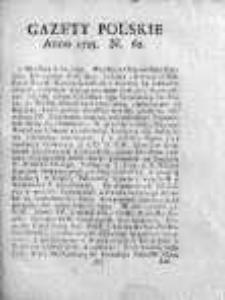 Gazety Polskie 1735, Nr 62