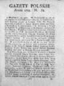 Gazety Polskie 1735, Nr 72