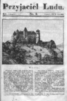 Przyjaciel Ludu czyli Tygodnik potrzebnych i pożytecznych wiadomości 1837/38, R.4, nr 2