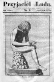 Przyjaciel Ludu czyli Tygodnik potrzebnych i pożytecznych wiadomości 1837/38, R.4, nr 3