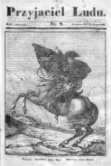 Przyjaciel Ludu czyli Tygodnik potrzebnych i pożytecznych wiadomości 1837/38, R.4, nr 8