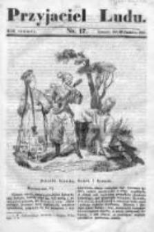 Przyjaciel Ludu czyli Tygodnik potrzebnych i pożytecznych wiadomości 1837/38, R.4, nr 17