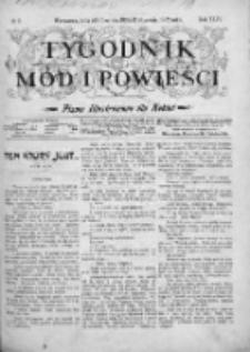 Tygodnik Mód i Powieści. Pismo ilustrowane dla kobiet 1902, Nr 2