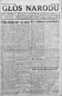 Głos Narodu 1931, Nr 9