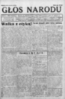 Głos Narodu 1931, Nr 16