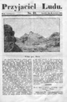 Przyjaciel Ludu czyli Tygodnik potrzebnych i pożytecznych wiadomości 1837/38, R.4, nr 43