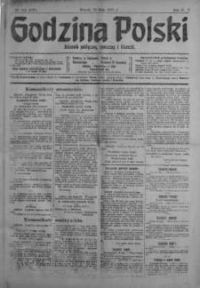 Godzina Polski : dziennik polityczny, społeczny i literacki 29 maj 1917 nr 144