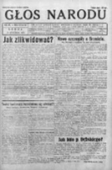 Głos Narodu 1931, Nr 20