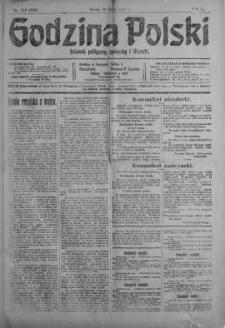 Godzina Polski : dziennik polityczny, społeczny i literacki 30 maj 1917 nr 145