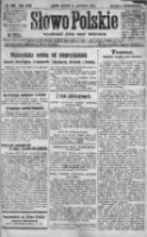 Słowo Polskie 1920, R.25, III, Nr 439