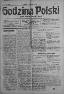 Godzina Polski : dziennik polityczny, społeczny i literacki 3 czerwiec 1917 nr 149