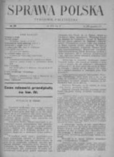 Sprawa Polska. Tygodnik polityczny 1916, R. 2, Tom II, Nr 42