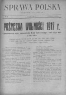 Sprawa Polska. Tygodnik polityczny 1917, R. 3, Tom I, Nr 20