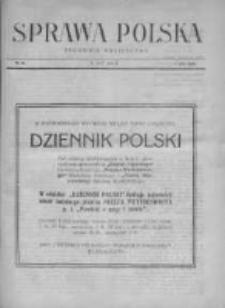 Sprawa Polska. Tygodnik polityczny 1917, R. 3, Tom II, Nr 26