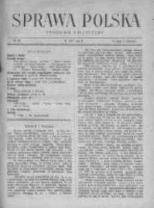 Sprawa Polska. Tygodnik polityczny 1917, R. 3, Tom II, Nr 28