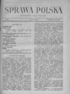 Sprawa Polska. Tygodnik polityczny 1917, R. 3, Tom II, Nr 32
